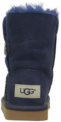 UGG Girls T Bailey Button II Pull-On Boot, Navy, 12 M US Little Kid by UGG (Image #2)
