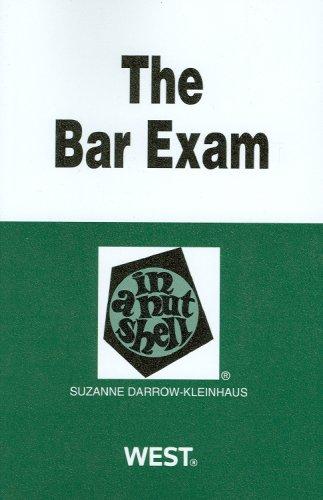 The Bar Exam in a Nutshell (Nutshells)