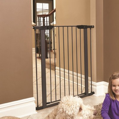 midwest-39-high-walk-thru-steel-pet-gate-29-38-wide-in-textured-graphite