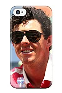 Durable Defender Case For Iphone 4/4s Tpu Cover(golfer Rory Mcilroy )