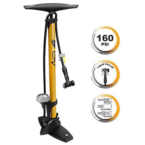 Thing need consider when find bike tire air pump with gauge?