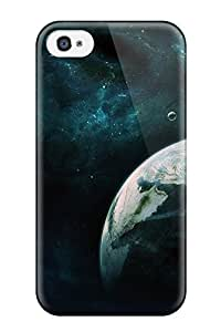 New Style 8122670K83702592 Iphone Case - Tpu Case Protective For Iphone 4/4s- Across The Planet