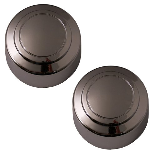 Set of 2 Replacement Aftermarket Rear Center Caps Hub Cover Fits 16x7 Inch Wheel - Part Number: IWCC3140/R