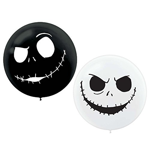 Nightmare Before Christmas Giant Latex Balloons