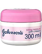 كريم ناعم للجسم من جونسون، ترطيب يدوم 24 ساعة، 300 مل