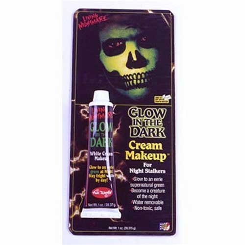 Glow In The Dark Halloween Costumes Uk (Vampire Glow in the Dark Cream Make Up Face Body Paint Make Up for Halloween ...)