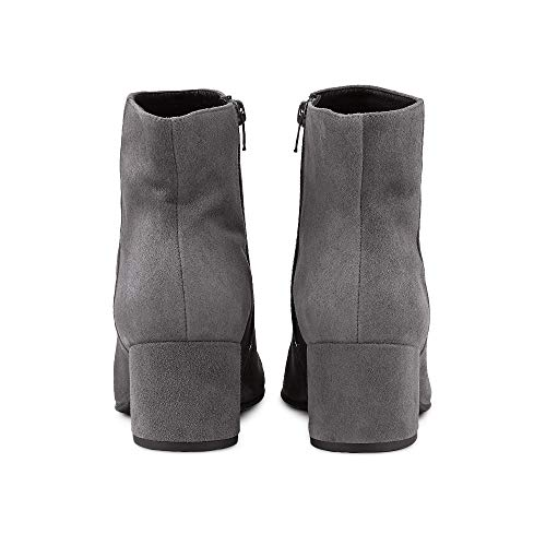 Grey Daydream 4112 in Ankle Grey Suede 10 HÖGL 6 Stylish Suede Boots CqxTf8n