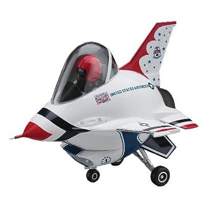"Hasegawa ""Egg Plane F-16 Fighting Falcon Thunderbirds Model Kit: Toys & Games"