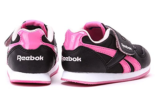 Reebok Royal Jogger KC v52825 Negro de color rosa Tamaño Euro 25,5/US 9/UK 8,5/15 cm