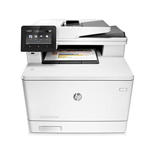 chollos oferta descuentos barato HP Color LaserJet Pro MFP M477fdw Impresora láser a color A4 hasta 27 ppm 750 a 4000 páginas al mes USB 2 0 de alta velocidad fácil acceso Red Gigabit Ethernet 10 100 1000 Base TX incorporado