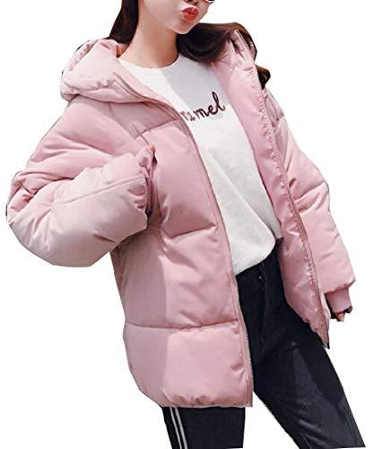 Jacket 3 Bread Womens Coat Puffer Padded Hoodie Down EKU Style wqR7TFxvx