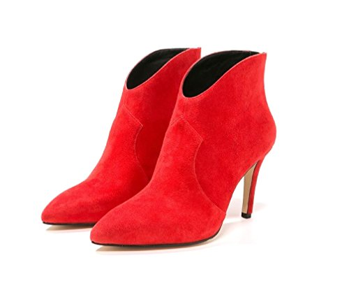Buffalo Boots Boots Red Women's Buffalo Boots Red Red Women's Red Women's Buffalo Red Buffalo Red Aww50Zq