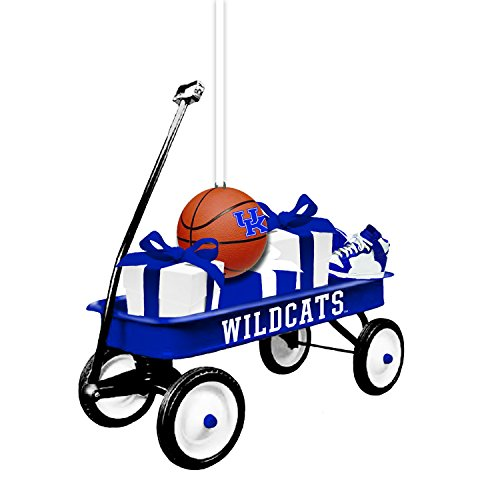 Team Sports America Kentucky Team Wagon Ornament (Uk Gift Tree)