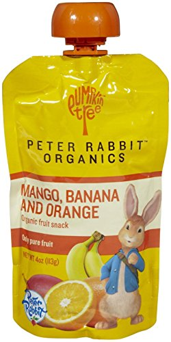 Price comparison product image Peter Rabbit Organics Baby Mango,  Banana,  and Orange,  4 oz
