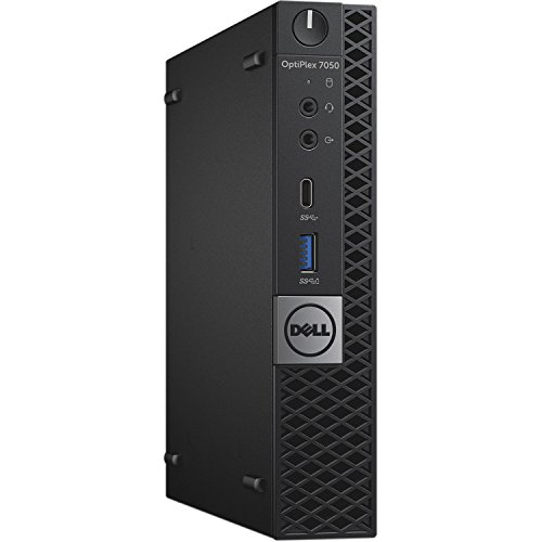 Dell OptiPlex 7050 Micro Tower (Intel Core i5-7500T, 8GB DDR4, 500GB HDD, Wi-Fi) Windows 10 Pro (Certified Refurbished)