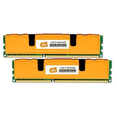16GB (4x4GB) MEMORY RAM 4 HP ProLiant DL350 G5 PC5300 Fully Buffered (DDR2-667MHz 240-pin FBDIMM)