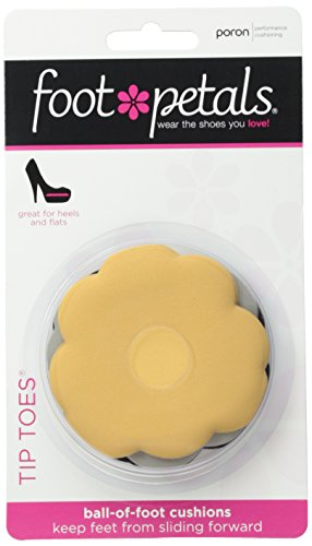 Foot Petals Women's Tip Toes Combo Pack, Multi, One Size