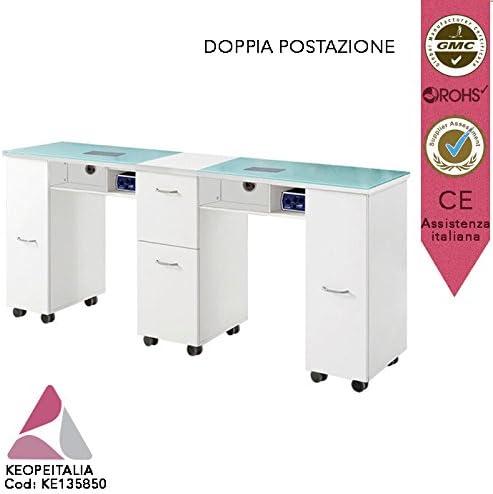 keope italia Mesa manicura postazione Doble para Esteticista ...