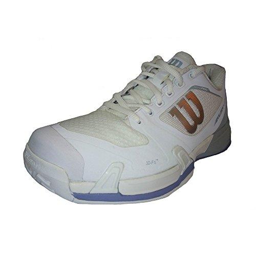 W para Blanco Pearl Stonewash Tenis Rush Pro Wilson 000 de White Zapatillas Blue Mujer 2 5 BR4nTwIq