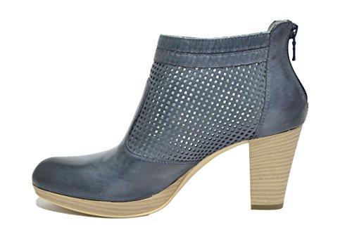 Nero Giardini Polacchini scarpe donna blu 7010 P717010D