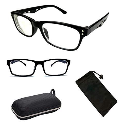 Nearsighted Myopia Lens Plastic Frame Optical Eyeglass Glasses For Men Unisex -5.0