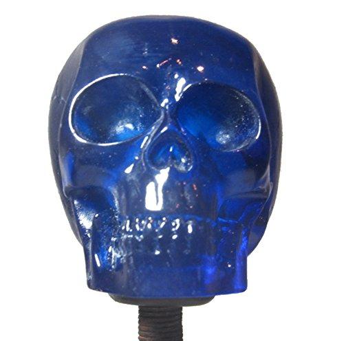 Skull Rat (Clear Blue Skull Shifter Shift Knob Rat Rod Lever)