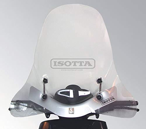 Parabrisas Isotta Compatible con Piaggio Beverly 125 2004 2006 E344+A724