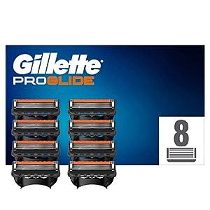 Gillette Fusion Proglide Lames de Rasoir Homme, Pack de 8 Lames de Recharges [OFFICIEL]