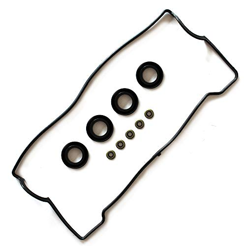 ROADFAR Valve Cover Gasket Set Kit for Toyota Celica Corolla Geo Prizm 1.6L 1.8L 93 94 95 96 97 ()