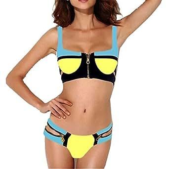 Amazon.com: Simi one Comfortable Women's Sexy Zip Style