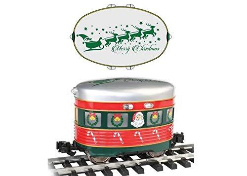 Santa /& Sleigh Large G Scale Eggliner Motive Power Christmas