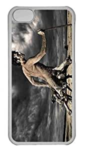 Customized iphone 5C PC Transparent Case - Tree Man Personalized Cover