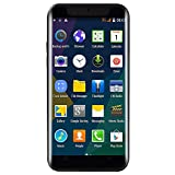 Unlocked Smartphone, 5.0 inch Dual SIM Dual HD Camera Full Touch Screen Cellphone Android 6.0 WiFi GPS Call 3G Mobile Phone (R15, Black)
