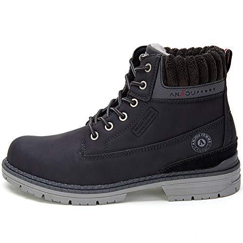De L'usure Ankle Pour Outdoor Chaussures Plush Cestfini Femme Quotidienne Boots Randonnée Sports Marche Hiver Choix Noir Bottes D'escalade Et Femme Tg5qO5