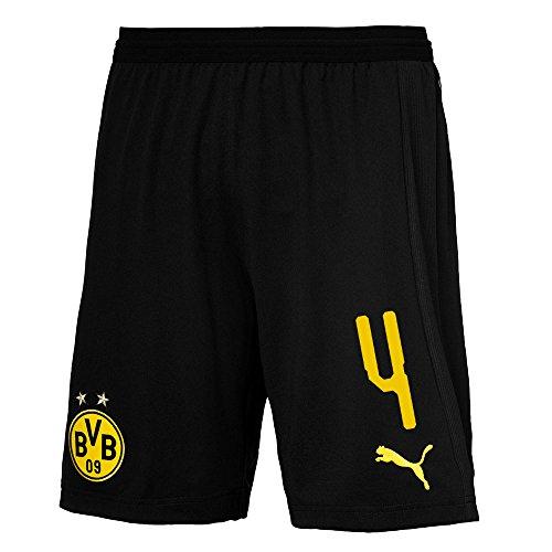 Pantaloncini Calcio 2018 Da Dortmund Puma Borussia Diallo Di Con Uomo 2019 Bvb Numero Giocatore 6CXq1F