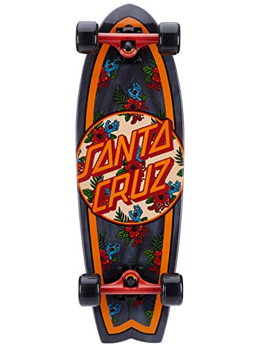 Santa Cruz Vacation Dot Cruzer Shark Complete Skateboard,Multicolored,8.8