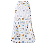 Halo Swaddlesure Adjustable Swaddling Pouch, Sport Champ, Small