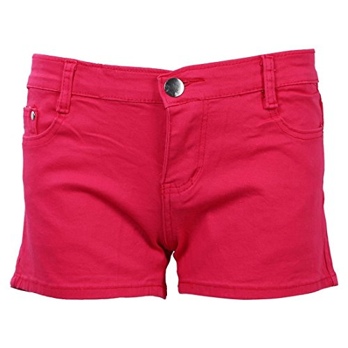 Short Bianco Estate Rossa Corti r 26 Di Slim Shorts Rosa Donne Candy Denim Pantaloni Jeans Sodial Fit S Tz4xXT