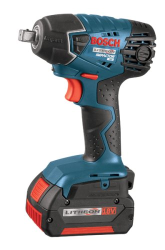 Bosch IWH181-01 18-Volt Lithium-Ion 3/8-Inch Square Drive Compact Impact Wrench Kit with 2 Batteries, Charger and Case Review