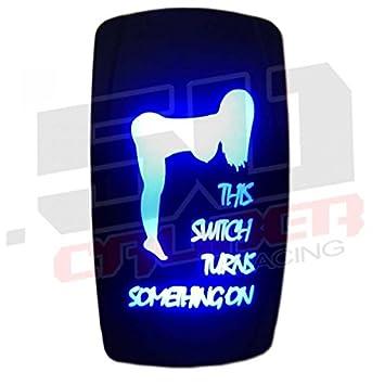 41bGHgXTKnL._SY355_ amazon com custom rocker switch on off blue this switch turns,Dorman 84944 Switch Wiring Diagram