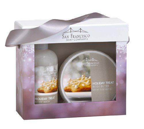 San Francisco Soap Company Holiday Body Wash & Body Butter G