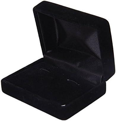 Homeland カフスボタン用 ケース ボックス 豪華 黒い