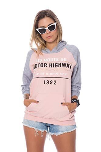 Blusa De Moletinho Motor Highway