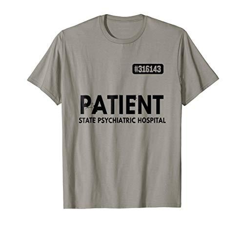 Patient Psychiatric Hospital Jail Costume T-Shirt Prisons