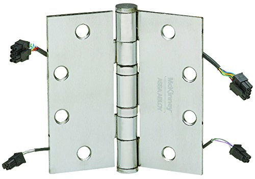 McKinney Products TA2714 4 1/2X4 1/2 QC12 US26D Hinge, Steel by McKinney Products