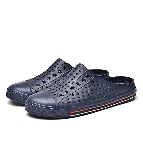Yajie EU da Color tacco 2018 Blu Dimensione piatte Ciabatte 36 con e shoes basso Uomo da uomo Blu donna Mocassini rUxqrB0f