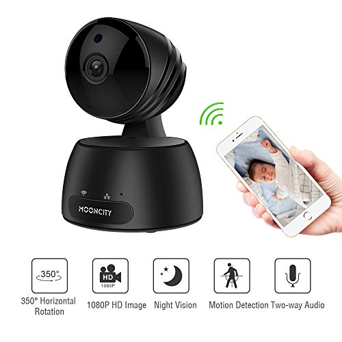 Home Security Camera Wireless, Baby/Pets/Elderly Monitor WiFi 1080P HD Indoor Home Video Surveillance Camera with Motion Detection, Night Vision, 2 Way Audio