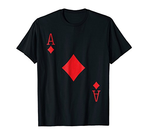 Ace Diamonds Poker Texas Hold em Deck Cards Playing Costume]()
