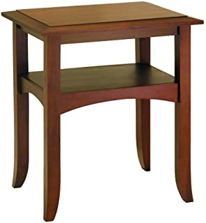 Winsome Wood End Table, Antique Walnut