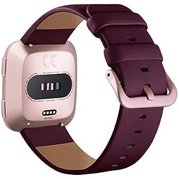 Amazon.com: Fitbit Versa Bands Women Men - V-MORO Rose